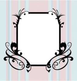 ugly frame vector image vector image
