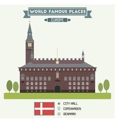 Copenhagen vector image