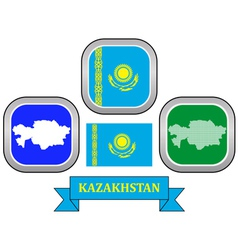 Symbol of kazakhstan vector