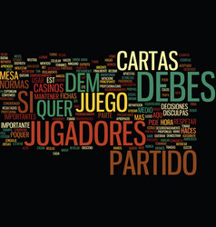 Etiqueta de poquer text background word cloud vector