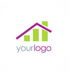 Home investment business logo vector