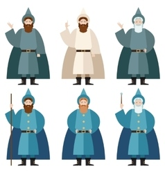 Set of mages vector