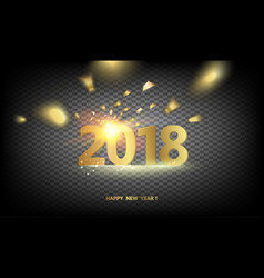 2018 new year background vector
