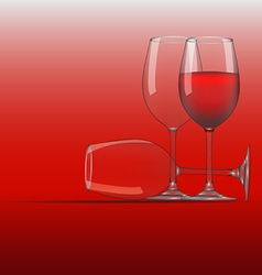 Wine glass 3 vector
