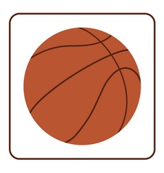 Basketball ball 2 vector