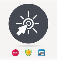 Click icon computer mouse cursor sign vector