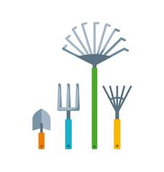 Gardening tools design vector