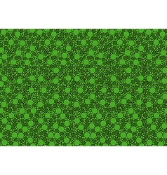 Green Dotted Texture vector image vector image