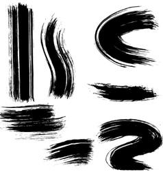 Grunge line vector