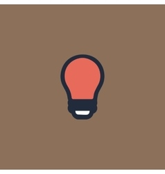 Led lamp bulb isolated vector image vector image