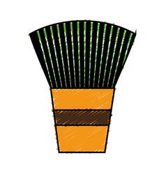 Makeup equipment design vector