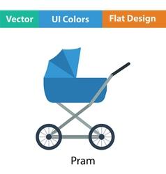 Pram icon vector image vector image