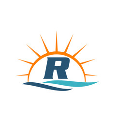 Wave sunset initial r vector