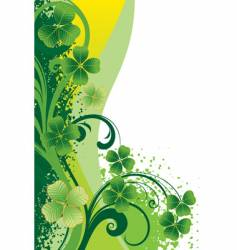 background for St Patrick's day vector image