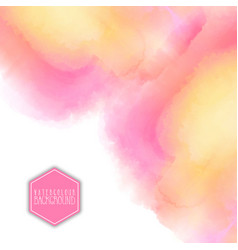 Watercolour background vector