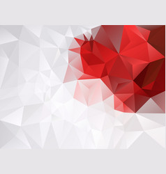 Gray white and vibrant red color background vector