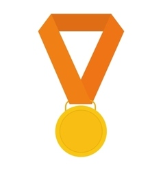 Medal icon winner design graphic vector
