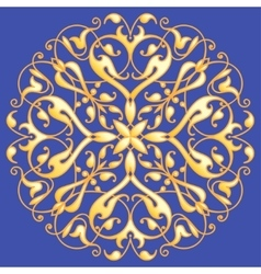 Oriental decorative element zentangle mandala vector
