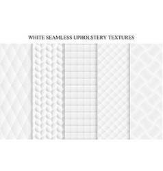 seamless white decorative soft textures vector image vector image