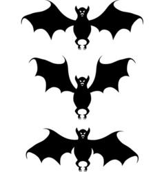 bat a contour vector image