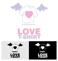 Love t-shirt vector