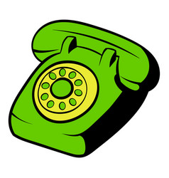 Phone icon cartoon vector