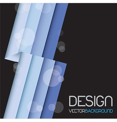 Blue lines vector image