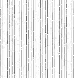 Vertical gray random tinted lines seamless pattern vector image