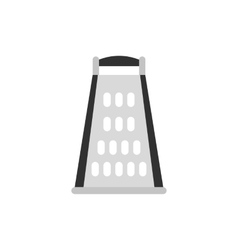 Cooking kitchen grater icon flat style vector