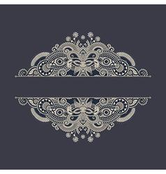 Ornate floral background vector