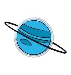 Saturn vector