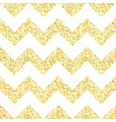 New year seamless gometric pattern with golden vector