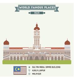 Kuala Lumpur vector image
