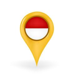 Location indonesia vector