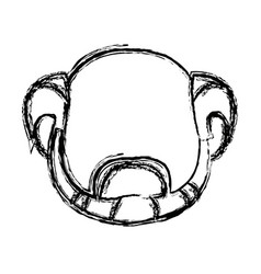 Man head avatar person mature male vector