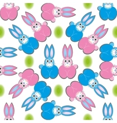 Hare rabbit easter vector