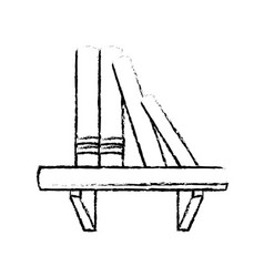 Book shelf literature encyclopedia image vector