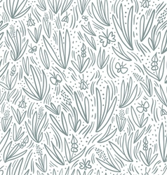 Grey field seamless pattern vector
