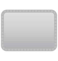 background with filmstrip frame vector image vector image