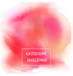 watercolour texture background vector image vector image