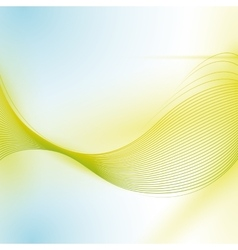 wave wallpaper shiny green background icon vector image vector image