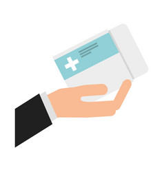 Medicine tab isolated icon vector