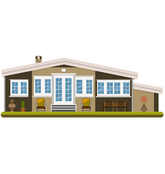 Vacation home vector