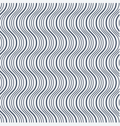 seamless wave pattern vector image