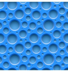 Blue seamless dotted plastic background vector