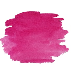 Abstract watercolor hand paint purple texture vector