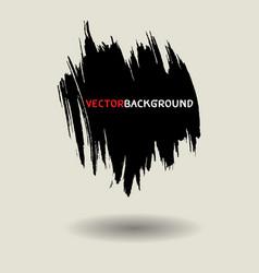 Black brush texture background set vector
