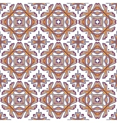 Gorgeous seamless patchwork pattern from colorful vector