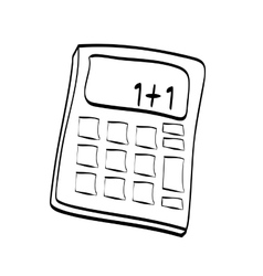 Calculator icon math design graphic vector