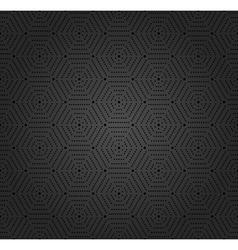 Modern seamless dotted pattern vector